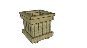2×4 Planter Box Plans