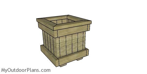 2x4 planter box plans