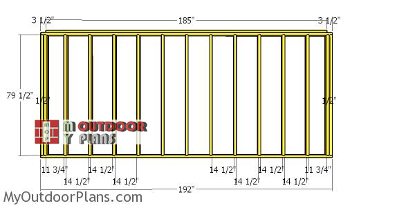 Back-wall-frame---8x16-run-in-shed