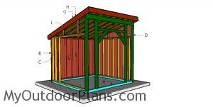 Building a 10x10 run in shed