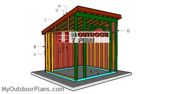 Building-a-10x10-run-in-shed