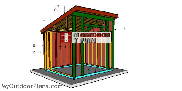 Building-a-12x12-run-in-shed