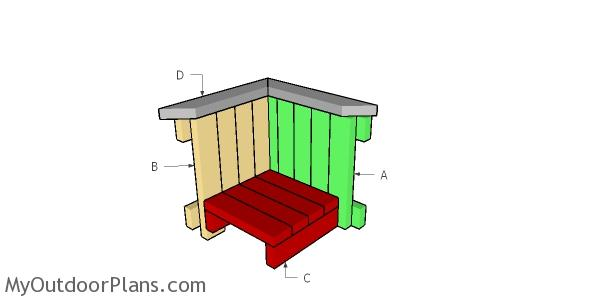 Building a 2x4 planter box