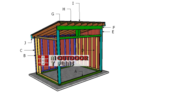 Building-a-8x10-run-in-shed