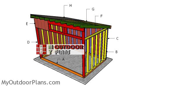 Building-a-8x12-run-in-shed