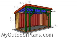 Building a 8x16 run in shed