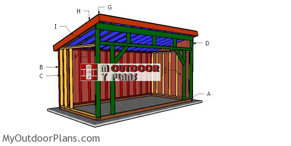 Building-a-8x16-run-in-shed