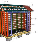 2×4 Firewood Shed Roof Plans