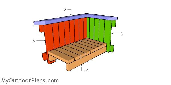 Building a planter box from 2x4s