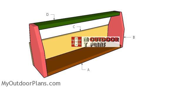 Building-a-wooden-chicken-feeder