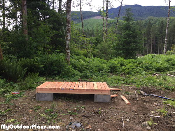 Building-the-floor-for-the-wood-shed