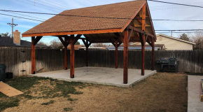 DIY 20×20 Pavilion