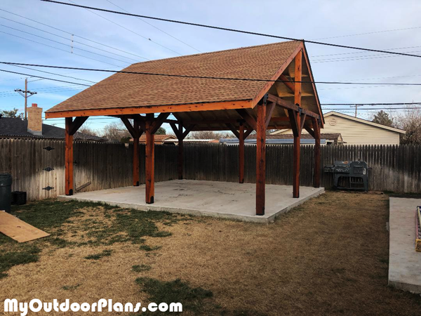 DIY 20x20 Pavilion
