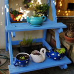DIY 3 Tier Outdoor Plant Stand