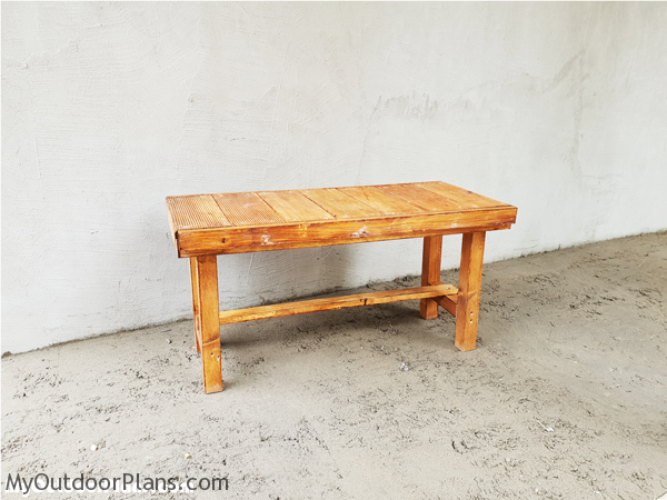 DIY Simple Bench Seat