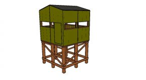 Elevated 8×8 Deer Stand Plans