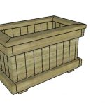 Planter Box from 2×4 Plans