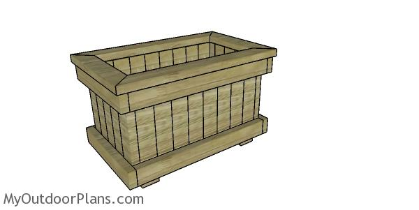 Planter Box from 2x4 Plans