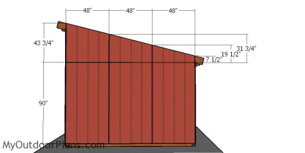 Side siding panels