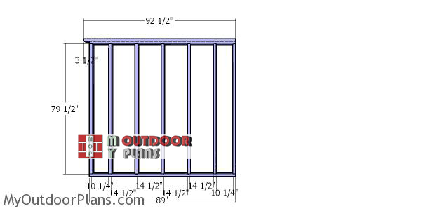 Side-wall-frame---run-in-shed