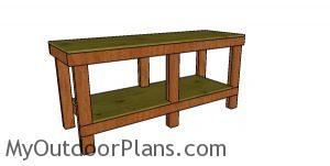 2x4 6 ft Workbench Plans
