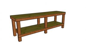 2×4 8 ft Workbench Plans