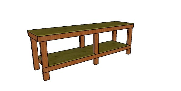 Stupendous 2X4 8 Ft Workbench Plans Myoutdoorplans Free Woodworking Andrewgaddart Wooden Chair Designs For Living Room Andrewgaddartcom