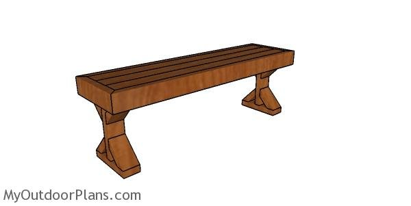 2x4 Deck Bench Plans