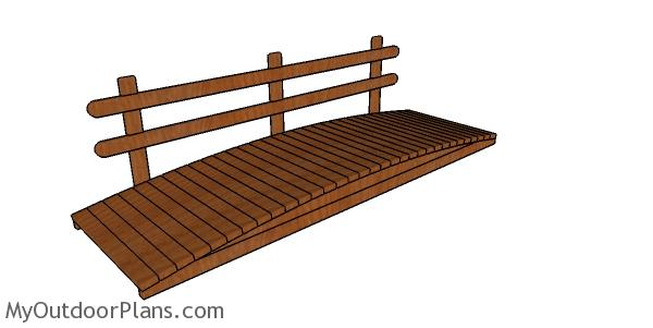 2×4 Garden Bridge Plans
