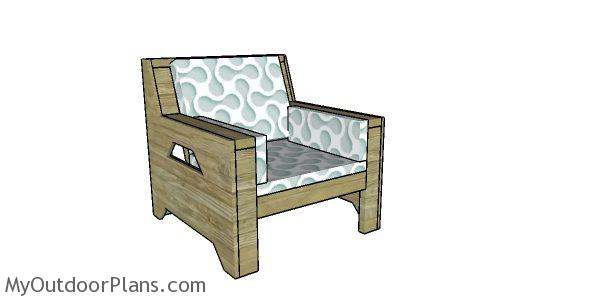 2x4 Outdoor Chair Plans