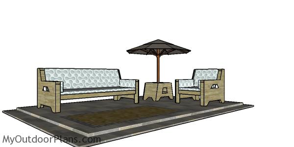 2x4 Outdoor Set Plans