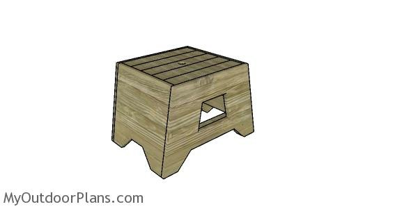 2x4 Side Table Plans
