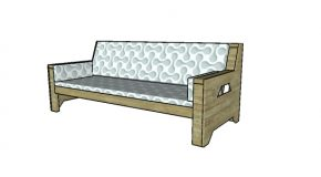 2×4 Outdoor Sofa Plans