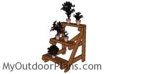 2x4 Plant Stand Plans