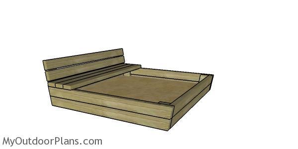 2x4 Sandbox plans