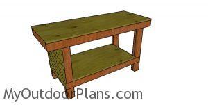 2x4 Simple Workbench Plans