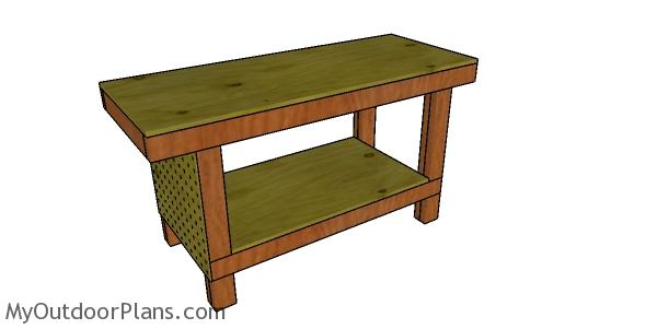 2x4 Simple Workbench Plans