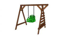 2×4 Toddler Swing Set Plans