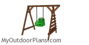 2x4 Toddler swing set plans