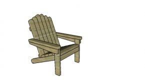 2×4 Adirondack Chair Plans