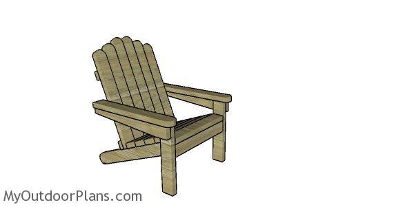 2x4 Adirondack Chair Plans Myoutdoorplans Free
