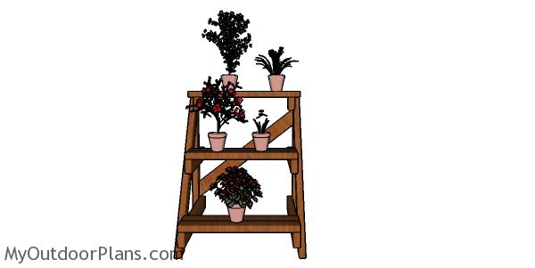 3 tier Plant Stand Plans