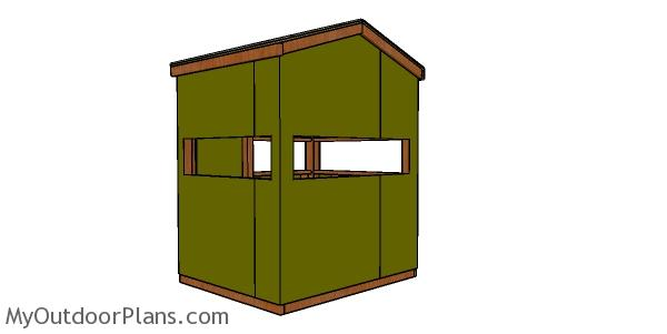 5x6 Deer Stand Plans