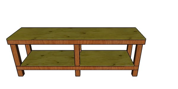 8 ft Workbench Plans