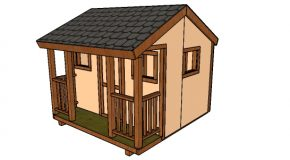 8×8 Playhouse Plans
