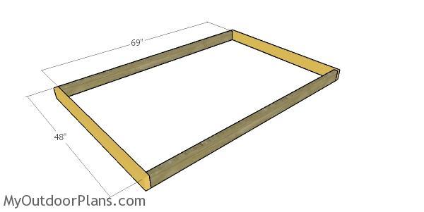 Assembling the frames