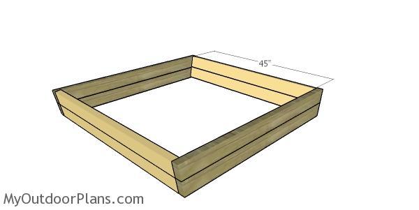 Assembling the sandbox