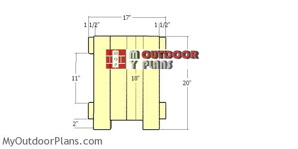 Assembling-the-side-panels-for-planter