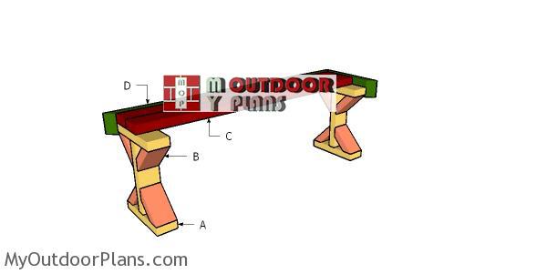 Building-a-2x4-deck-bench