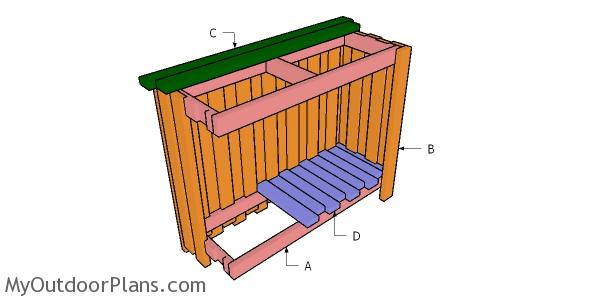 Building a 2x4 outdoor bar
